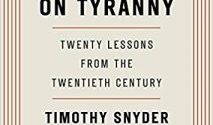 On Tyranny of Timothy Snyder
